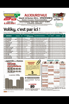 Week-End - le journal - screenshot