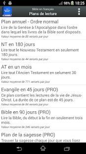 Bible en français Louis Segond screenshot