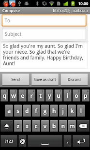 Birthday Messages- screenshot thumbnail