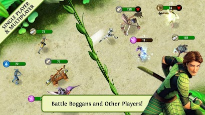 لعبة مميزة للاندرويد مستوحاه من فيلم الرسوم المتحركة الشهير Epic ™.apk 1.0.0