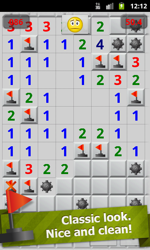 Minesweeper Professional - screenshot