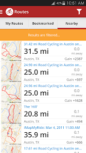 Map My Ride+ GPS Cycling- screenshot thumbnail