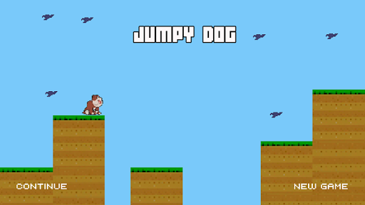 Jumpy Dog