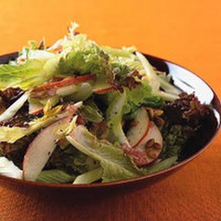 Autumn Greens and Apple Salad.