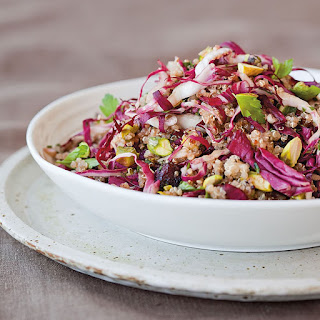 Quinoa Salad with Dried Cherries and Pistachios
