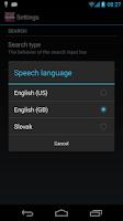 Screenshot of Offline English Slovak Dict.