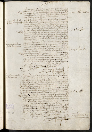 Record about the ransom of Miguel de Cervantes Saavedra, July 31th, 1579.