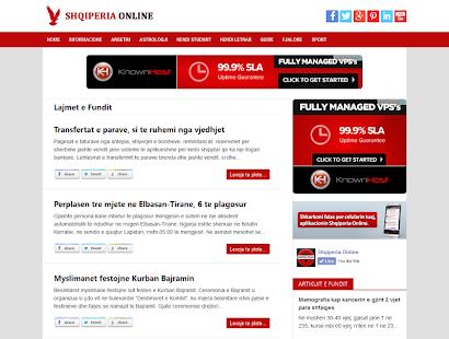 Shqiperia Online (Albania) - screenshot thumbnail