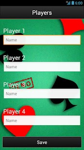 Trex Scorecard HD (free) screenshot