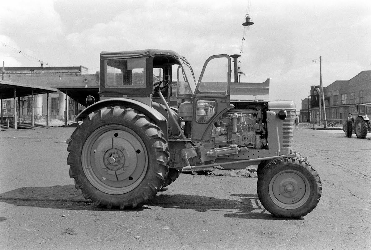 Street Scenes At Minsk And On The Minsk Tractor Works