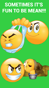 Mean Emoticons by Emoji World