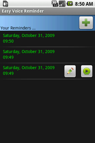 Easy Voice Reminder - screenshot