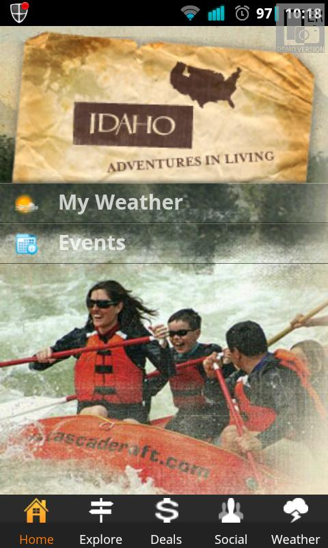 Visit Idaho Travel Guide- screenshot