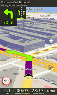 Android Apps: GPS Navigation BE-ON-ROAD