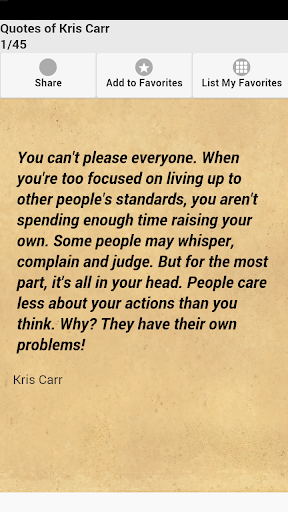 Quotes of Kris Carr