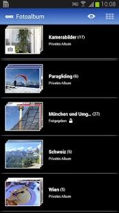 GMX Fotoalbum- screenshot thumbnail