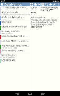 DejaOffice CRM + Outlook Sync- screenshot thumbnail
