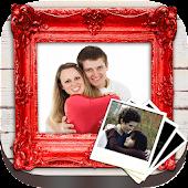 Valentine's photo frames