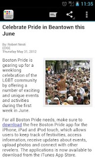 Boston Gay Pride - screenshot thumbnail