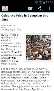 Boston Gay Pride - screenshot thumbnail