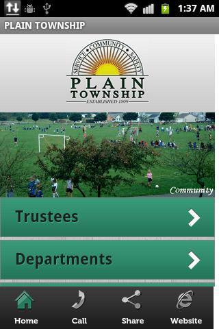 Plain Township Mobile App