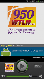 950 WTLN - screenshot thumbnail
