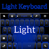 Blue Light Keyboard