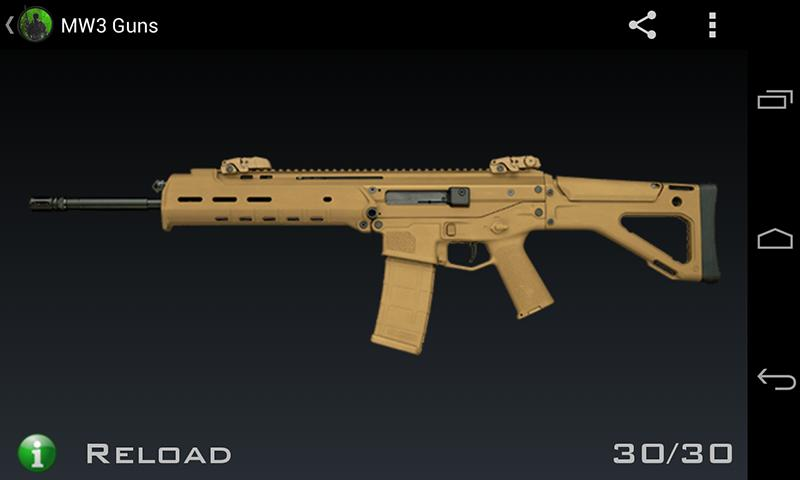MW3 Guns - screenshot