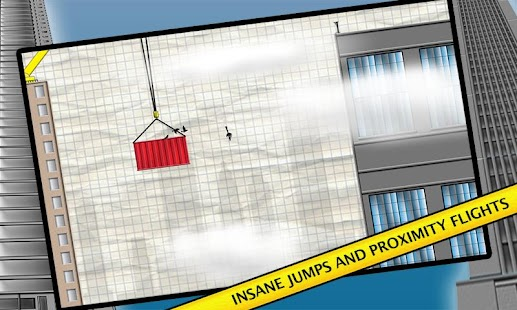 Stickman Base Jumper - screenshot thumbnail