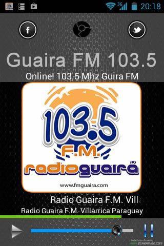 Guaira FM 103.5 MHz