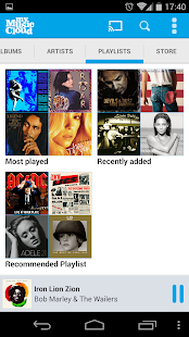 My Music Cloud: Storage & Sync- screenshot thumbnail