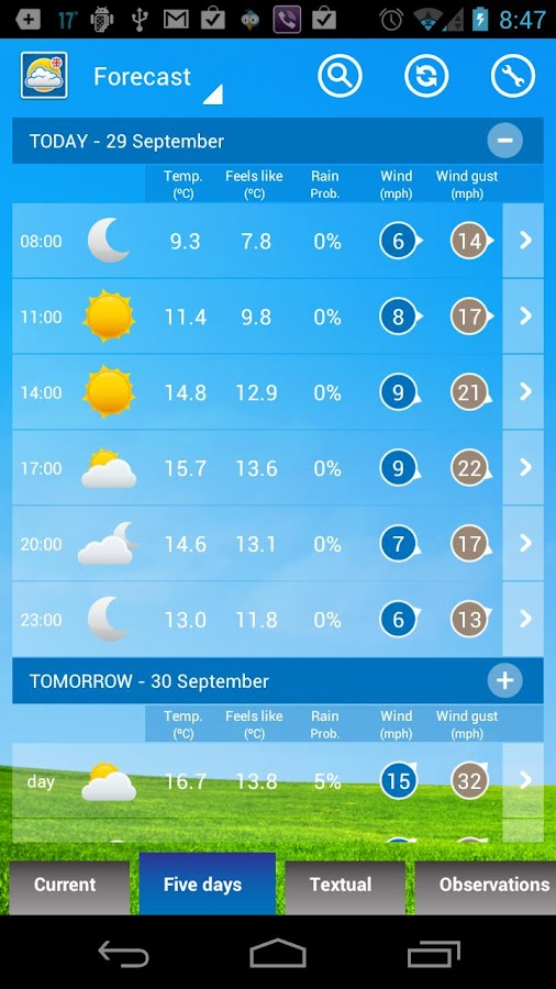 UK Weather Forecast- screenshot