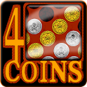 4 Coins (Connect  4) Premium icon