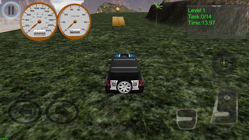 【免費賽車遊戲App】Wild Safari Cops Rally 4x4-APP點子