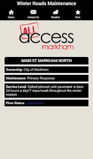 Access Markham - screenshot thumbnail