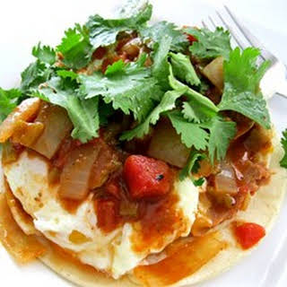 Authentic Huevos Rancheros.