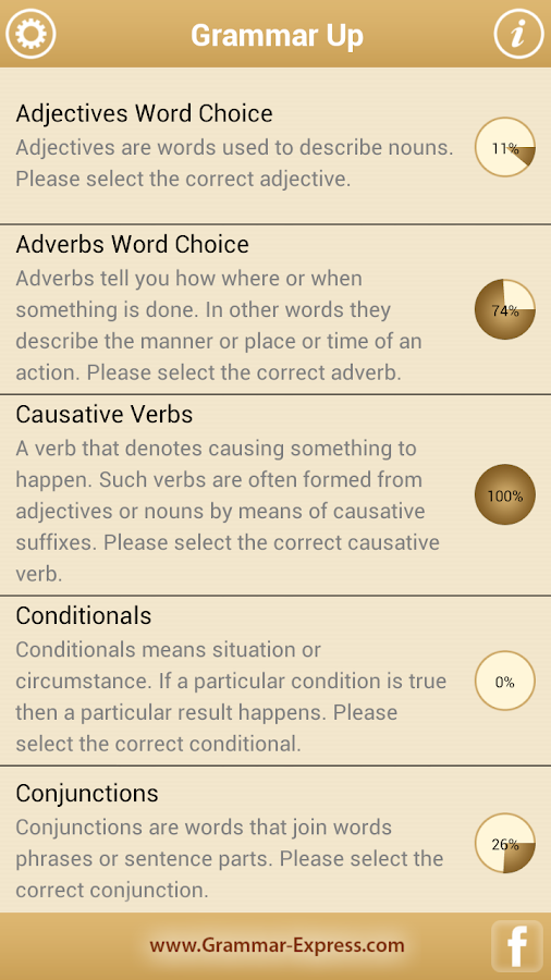 Grammar Up Lite- screenshot