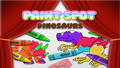 Paint Dinosaurs for Toddlers