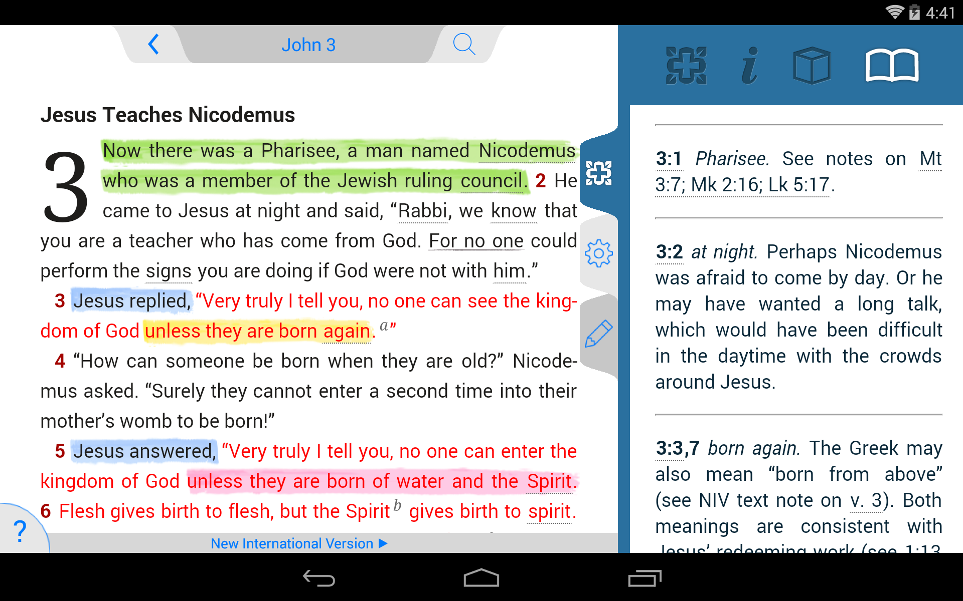 NIV Study Bible screenshot #20