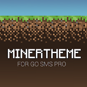 GOSMS MinerTheme 8bit Theme