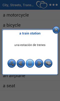 35 Languages Dictionary - screenshot