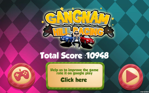 Gangnam Racing Spel (APK) gratis nedladdning för Android/PC/Windows screenshot