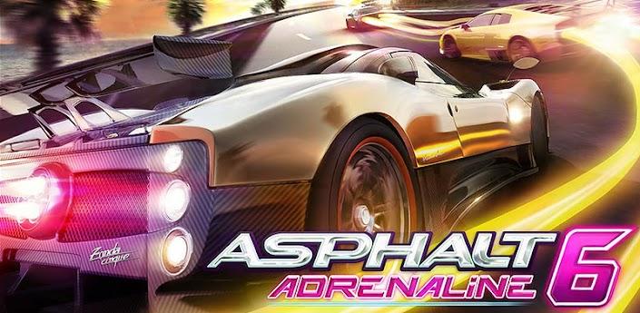 Скачать Asphalt 6: Adrenaline HD apk на android