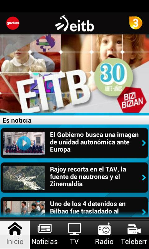EITB- screenshot