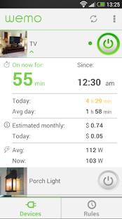 WeMo - screenshot thumbnail