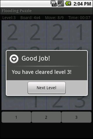 Flood Puzzle- screenshot