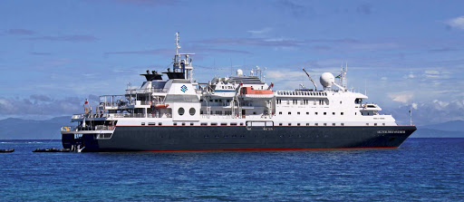 Silver_Discoverer_at_sea - Silver Discoverer is designed for taking you off the beaten path. You'll go where few other travelers go.