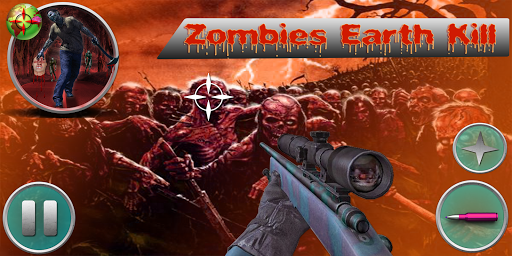 Zombies Eartkill 3D Zombie War