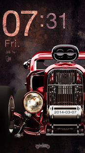 Vintage Car Live Locker Theme