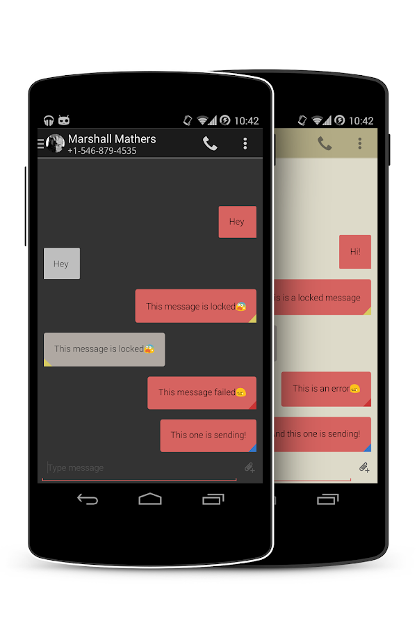 EvolveSMS Minum - screenshot